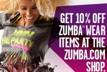 Zumba Addiction  / I Like To Move It Move It!  Hit the Zumba Shop for the latest looks!!!   Get 10% off when you click on a Zumba advertisement on my website www.rachelervin.zumba.com or use this code on www.zumba.com at checkout in the Instructor Affiliate Code box:  ZCODE10