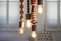 interiors//lighting / by Janelle Pietrzak