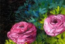 """My Art / I love to create, """"from heart to art"""". Originals, prints and cards available."""