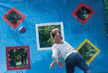 Outdoor Play / Keep your children active in the fresh air with these exciting and fun outdoor activities. Let them grow and learn through play and encourage a healthy lifestyle by combining exercise with entertainment!