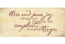 It's The Little Things / by MaryJo Garraty