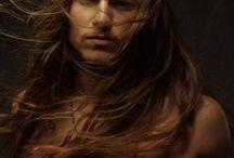 ...Because He's Worth It / Men with long locks.
