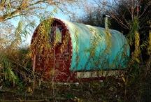 Gypsy Caravan, Vardo / Beautiful vintage vardo available for wonderful memories and incredible holidays.   / by Greentraveller