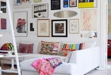 Interiors - Living Room / by Nicole Whiteside