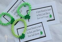 St. Patrick's Day Creativity / Celebrate St Patrick's Day with fun arts and crafts, decorations, recipes, and treats! Find DIY projects and kid-friendly activities filled with shamrocks and everything green!