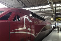 Thalys train journey - Amsterdam and Cologne