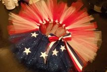 Red, white & blue!! / by Adrienne Massey (Williams)