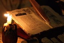 Bell, Book and Candle / A little witchcraft. A touch of magick. / by Gina ♊