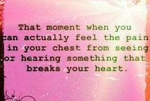 </3 Heartbreak </3