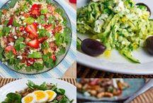 Salads☆yum yum! / by Adrienne Massey (Williams)