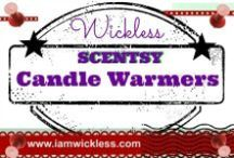 SCENTSY Wickless Candles / Scentsy Wickless Candles are electric and safe. We have many styles and sizes to select from, some with light bulbs, and some with a simple heating element. Our warmers use a low melting point to gently melt our Scentsy wax candles. Scentsy warmers also make great gifts. Visit my website today to order online: https://atippets.scentsy.us/Buy