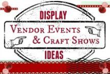 Vendor Event  and Craft Show Ideas / Are you a Direct Seller/Party Plan Consultant who does vendor events and craft shows? We'd love to have you join us for collaboration. Post photos of your booth space displays. Please no soliciting business opportunities, sales, etc. Only booth ideas.