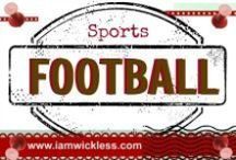 SPORTS: Football / This Pinterest board has fun football photos, products, teams, memorabilia, and all things for the love of the sport. Are you ready for some FOOTBALL?
