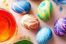 HOLIDAY: Easter / Great ideas for Easter! Recipes, egg coloring, crafts, fun, kids, baskets, and great tips for your Easter celebration.