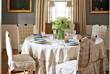 Dinng Room Ideas / by SierraLivingConcepts
