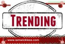 Trending / Trending 2015 fashion, gifts, textures, art, food, color, home decor, craft, and top product trends. www.iamwickless.com