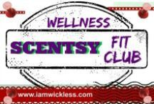 Wellness: Scentsy Fit Club / This Pinterest board has tips and ideas to help Scentsy Consultants (or anyone) with their fitness goals. #scentsyfitclub #iamwickless www.iamwickless.com