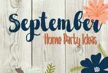 September Home Party Ideas / September Home party theme ideas and tips. Skyscraper Day, Cheese Pizza Day, Read a Book Day, Chocolate Milk Shake Day and more! Fun ideas for your September home parties.