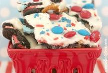 4th of July / 4th of July food treats, crafts and decorations