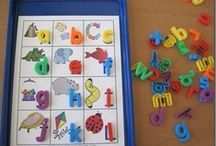 Language Arts-Alphabet Ideas / by Mary-beth Nickerson