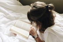 Books, books, books <3 / Books are my escape. My escape from reality into another world. A world that teaches me lessons of life and love and hope. After all, those who read live a thousand lifetimes, and those who do not read live only one.  / by Shelby Campbell