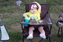 Camping with kids / Show us your ciao! baby chair on your camping trips.