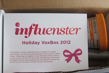 Influenster Holiday 2012 VoxBox / by Cynamin x0