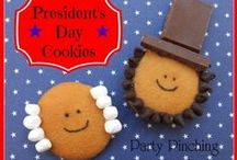 President's Day / Everything for celebrating President's day with the kids - crafts, books, food and more.