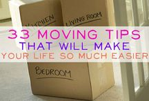 Packing and moving tips / by Liz O'Dea-Beckman