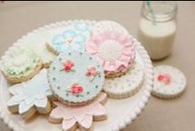 Girly Girl Cake and Cookie Decorating Ideas