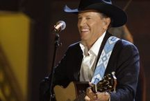 """King George! / My absolute love for the king of country.  """"At first she's gonna come on strong. Like she'll love you all night long. Like it's going out of style. Then she'll leave you with a smile."""" <3 / by Shelby Campbell"""