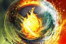 Divergent <3 / Your results were inconclusive. The test didn't work on you. They call it DIVERGENT. This is beautiful series that tells a story that will make you laugh, cry, and fall in love. The stories of Tris and Tobias and Christina and Will and Uriah and Caleb and Marlene and everyone else will tug at your heart strings, and you will never want it to end.  / by Shelby Campbell