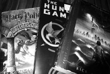 Fandoms! / Yeah, I'm one of those people. The people that get wrapped up in books and movies so much that it feels a part of life. Here is a glimpse at a few of my favorites - Katniss and Tris and Harry and Percy and Sam and Dean.  / by Shelby Campbell
