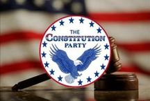 **THE CONSTITUTION PARTY** / by Loretta