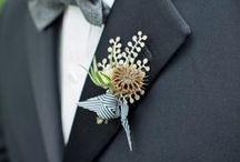 Cute As A Button / Fabulous boutonnieres / by Elizabeth Jackson