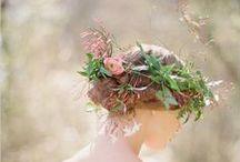 Crowning Glory / Wedding & Floral Crowns / by Elizabeth Jackson