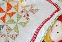 Pretty Scrappy Baby Quilt  :)