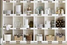 STORAGE   ORGANIZATION / closets   pantries   cupboards