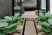 EXTERIOR / backyards, frontyards, courtyards, landscaping, gardens, outdoor living spaces