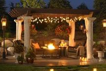 Outdoor Rooms and Pergolas
