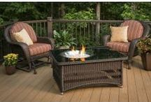 Patio Furniture / Beautiful Outdoor Furniture for the deck, patio, and backyard.
