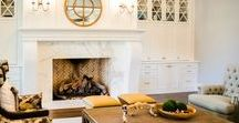 Striking Stone Fireplaces / Our marble, granite, and tile fireplace designs and/or installations + plus some projects we find inspiring!