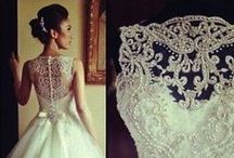 My perfect wedding dress / These are my favorite designs that most caught my attention for a perfect wedding dress