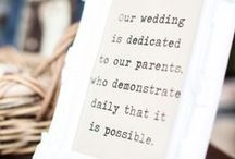 Dream Wedding / Romantic, Sentimental, Timeless.