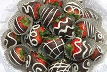 Chocolate Dipped Strawberries Ideas / Decorating ideas for chocolate dipped strawberries and creative ways to enjoy the yummy combination of chocolate and strawberries.  We have specially formulated Belgian style dipping chocolates (no need to add oils/fats or cream) at Chocoley.com / by Chocoley Chocolate
