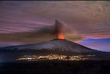 "Mount Etna / Etna - Mongibello - ""mountain of mountains"" Sicily"