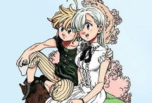 Nanatsu no Taizai <3 / -Pictures from NnT/SDS (Scenes, fanart etc.)  -From manga and anime  ♥️ゼルドリス♥️