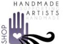 Handmade Artists Shop / A collection of handmade products from shop owners on HandmadeArtists.com  Come on by and see all that HandmadeArtists.com has to help you succeed.  / by CrochetHooked