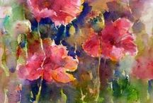 Art of Watercolor Florals / by Dawn N