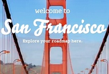 smart road trip San Francisco / Ready to experience all that San Francisco has to offer? From speakeasies and fresh fish to houseboats and fortune cookie factories, San Francisco is a traveler's dream come true. So grab the wheel of your smart, or hitch a ride in a friend's, and swing by these smart-approved hot spots in the City by the Bay. / by Official smart USA
